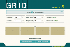 Online Grid Generator for Photoshop